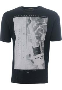 Camiseta Triton Guitars - Masculino