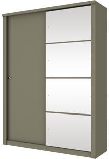 Guarda Roupa Henn Alegro 02 Portas Deslizantes 1 Com Espelhos Duna