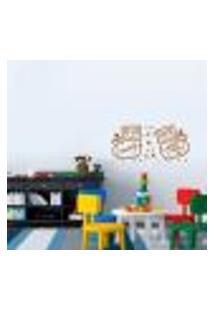 Adesivo De Parede Cartelas Infantil Sapatinhos De Bebe - P 22X50Cm