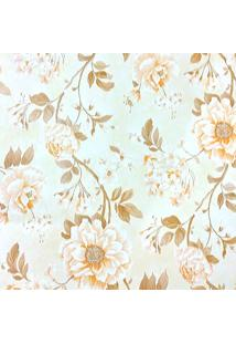 Papel De Parede Fwb Quarto Sala Lavável Flores Amarela - Kanui