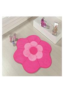 Tapete Premium Margarida Dupla-Pink 70Cm X 70Cm