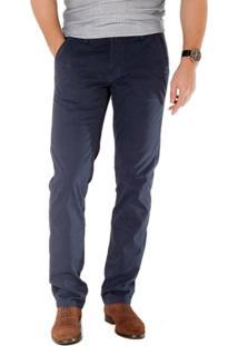 Calça Hait Plus Social Azul Marinho Via Tolentino - Masculino