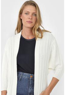 Maxi Cardigan Enna Tricot Bolsos Off-White