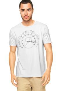 Camiseta Vila Romana Relógio Cinza