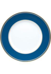 Sousplat Itália Branco E Azul