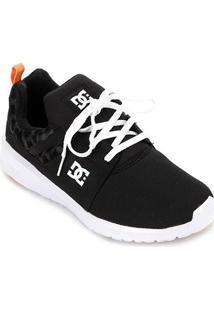 Tênis Dc Shoes Heathrow Tx Se Feminino - Feminino-Preto