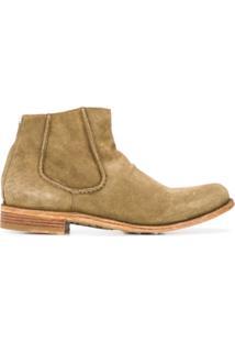Officine Creative Ankle Boot Le Grand Texturizada - Neutro