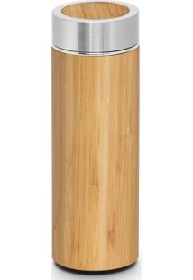 Garrafa Térmica Bambu Tea Infuser 430 Ml Topget - Kanui
