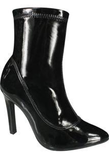Bota Ankle Boot Ramarim - Feminino-Preto
