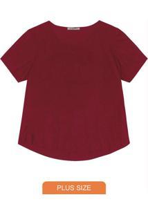Blusa Suede Feminina Vermelho