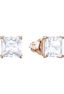 Brincos Attract Stud, Branco, Metal Rose Gold