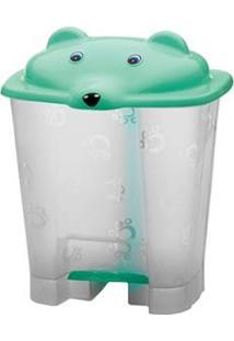 Lixeira Adoleta Com Pedal Urso 739 Em Plástico - 12 L