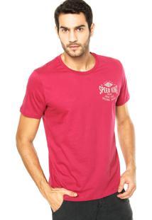 Camiseta Colcci Speed King Rosa