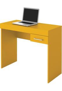 Escrivaninha Artely 1 Gaveta Cooler Amarelo