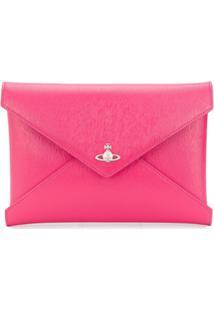 Vivienne Westwood Clutch Envelope - Rosa