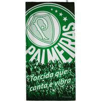 acabf81012 Toalha De Banho Palmeiras Bouton Veludo Torcida - Unissex