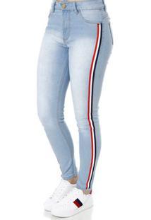 d961ba1438 ... Calça Jeans Feminina Sawary Azul