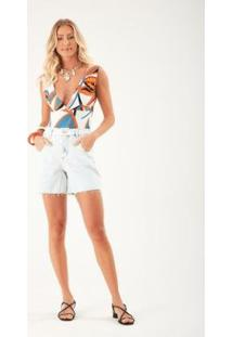 Body Zinzane Frida - Feminino - Feminino-Off White