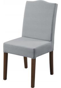 Cadeira Arabes Cinza Base Tabaco - 50594 - Sun House