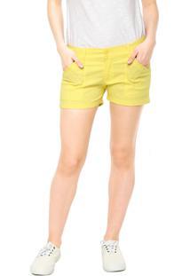 7b2236c4b52c6 ... Short Sarja Clothing   Co. Reta Madiso Amarelo