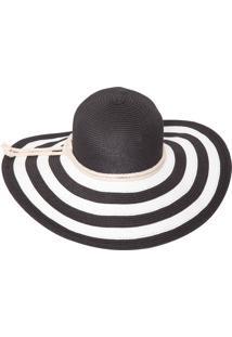 Chapéu Stripes - Preto