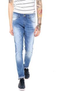 Calça Jeans Fiveblu Slim Arizona Azul