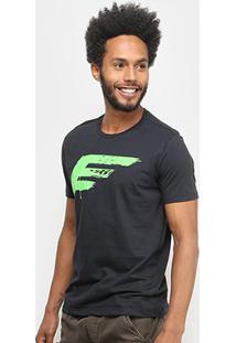 Camiseta Ellus Básica Masculina - Masculino-Chumbo