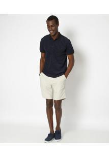 Polo E-Fabrics Listrada - Azul & Pretaosklen