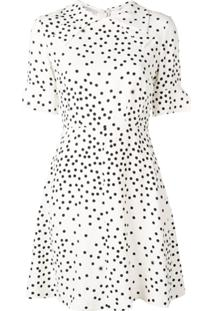 Stella Mccartney Vestido Com Poás - Branco