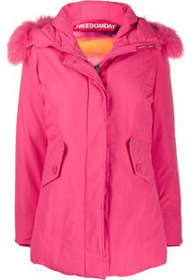 Freedomday Chamois Padded Coat - Rosa
