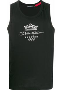 Dolce & Gabbana Regata Dg Since 1984 - Preto
