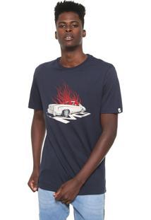 Camiseta Mcd Low Rider Azul-Marinho