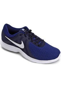 Tênis Nike Revolution 4 Masculino - Masculino-Marinho+Preto
