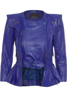 Jaqueta Feminina Ritinha - Azul