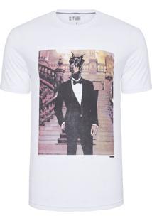 Camiseta Masculina Anti Social Club - Branco