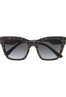 Dolce & Gabbana Eyewear Óculos De Sol Quadrado - Preto