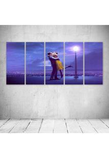 Quadro Decorativo - La La Land - Composto De 5 Quadros - Multicolorido - Dafiti
