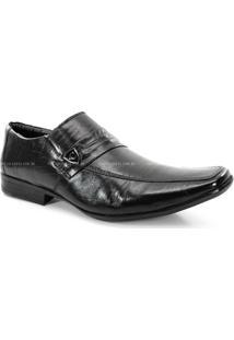 Sapato Social Calvest Masculino Preto - 1620B403