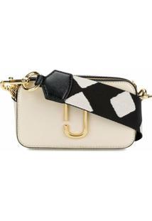 Marc Jacobs Bolsa Transversal 'Snapshot' Pequena - Branco