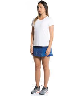 Camiseta Manga Curta Pinyx Gola U Branco