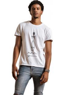 Camiseta Joss Hang Loose Branco