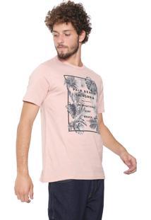 Camiseta Malwee Palm Beach Rosa