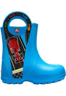 Galocha Handle It Graphic Boot K- Azul & Pretacrocs