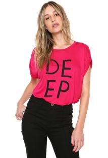 Camiseta Forum Deep Rosa