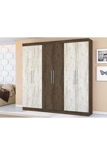 Guarda-Roupa Com 6 Portas Dultra Dakota/Essence – Lc Móveis