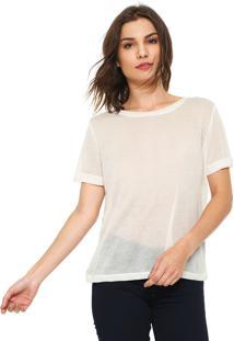 Camiseta Jdy Lisa Off-White