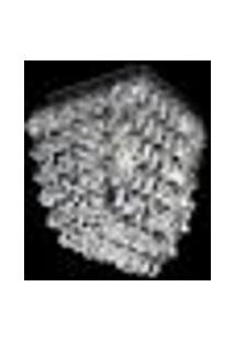 Plafon Cristal Legítimo Quadrado 11X11X15Cm - Jp/Nikko/11Plaf
