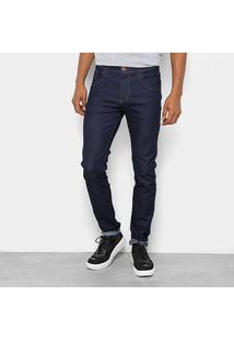 Calça Jeans Skinny Coffee Lisa Amaciada Masculina - Masculino-Jeans