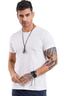 Camiseta Básica Branco Bgo