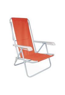 Cadeira Reclinavel 8 Posições Anis Laranja